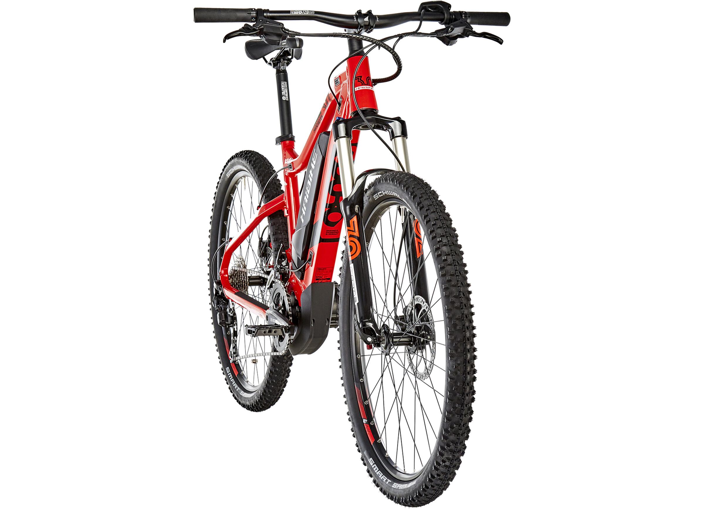 20a9dd75adf650 HAIBIKE SDURO HardSeven 3.0 E-mountainbike rød
